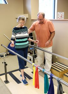 Tim and Shirley Balance Training