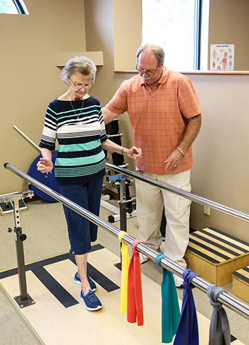 Tim and Shirley 2017 Balance Training