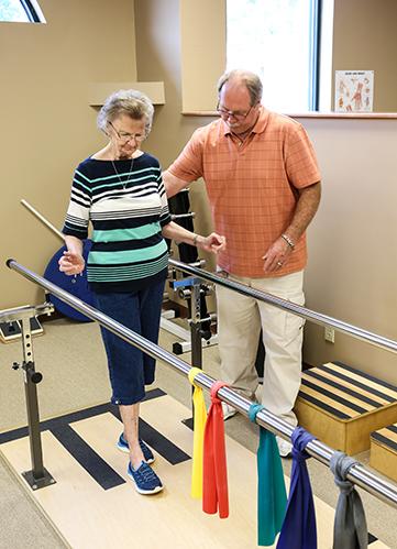 Tim and Shirley 2017 Balance Training